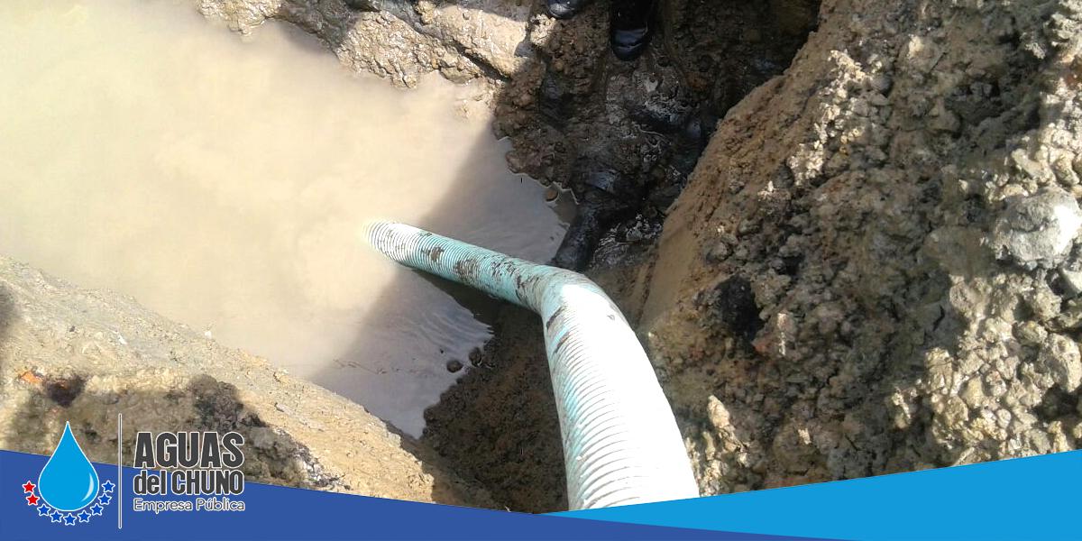 Aguas del Chuno sigue con reparaciones